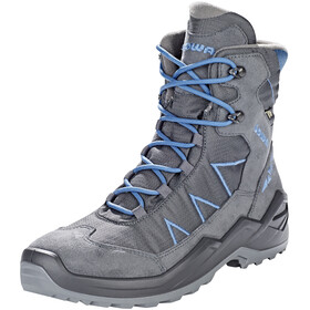 Lowa Jonas GTX Mid Shoes Youth anthracite/blue